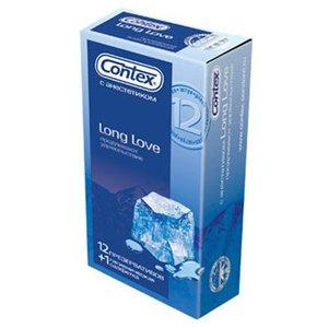 CONTEX Long Love ( с анестетиком для продления удовольствия) Презервативы №12