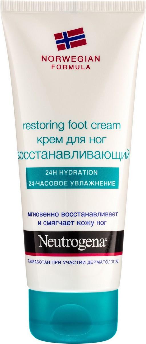 Neutrogena Норвежская формула крем для ног 100мл восстанавливающий