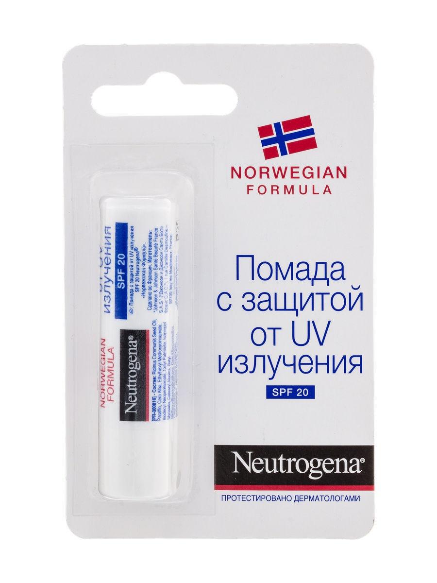 Neutrogena Норвежская формула помада с UV-защитой 4,8г SPF20