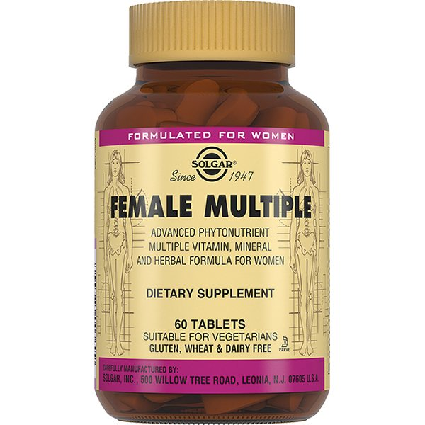 Солгар Мультивитамины и минералы для женщин таб N60