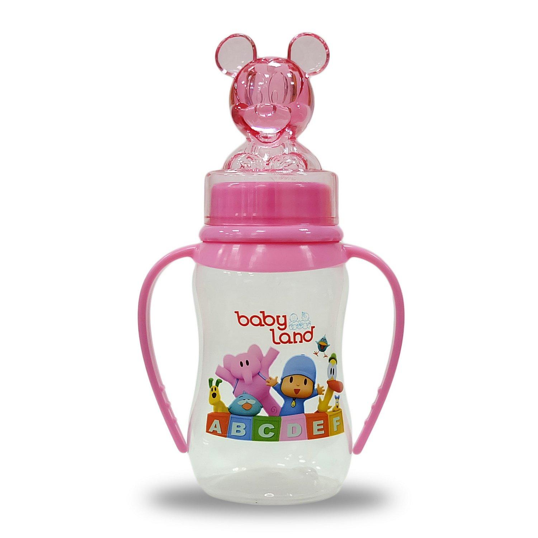 Baby Land бутылочка с ручками 150мл 472