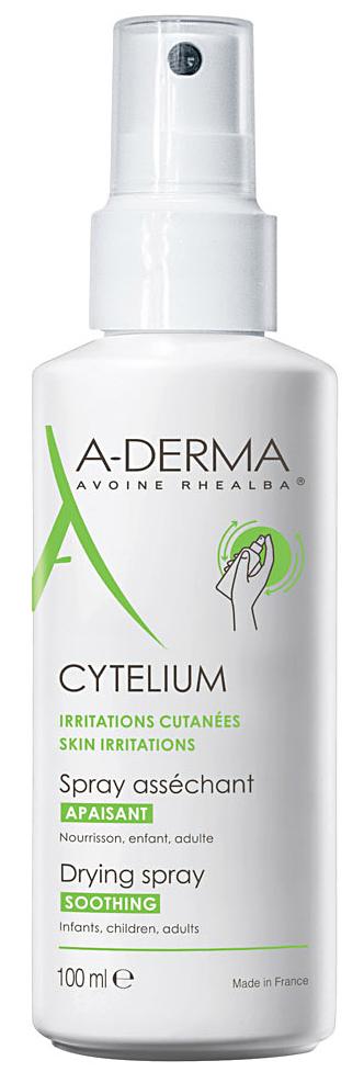 Cytelium спрей подсушивающий 100мл A-derma (А-Дерма)