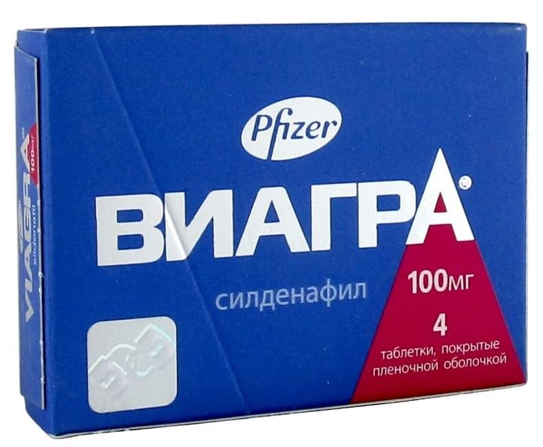 Виагра таб 100мг N4