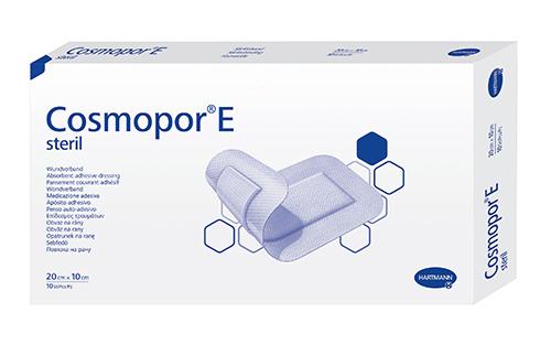Cosmopor E повязка 20x10см 10шт послеоперационная стерильная (Космопор Е)