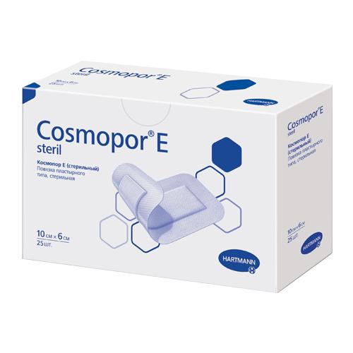 Cosmopor E повязка 10x6см N25 нетканая стерильная(Космопор Е)