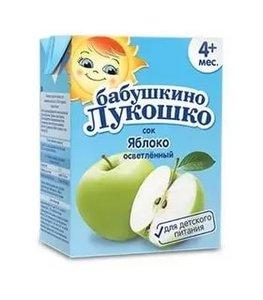 Сок Бабушкино Лукошко яблоко с 4 мес., 200 мл