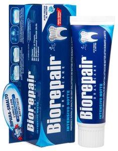 Biorepair Intensive Night Repair Зубная паста ночное интенсивное восстановление 75 мл