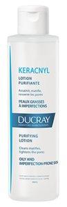 Ducray Keracnyl Лосьон очищающий для жирной, проблемной кожи 200 мл