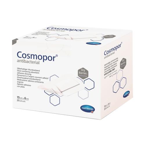 Cosmopor Antibacterial повязка 15x6см N25 нетканая стерильная (Космопор Антибактериал)