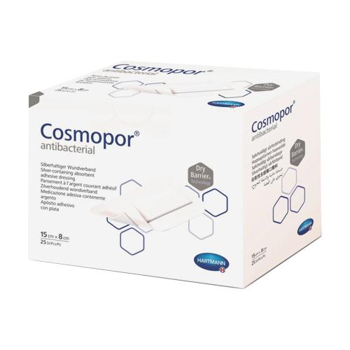 Cosmopor Antibacterial повязка 15x8см N25 нетканая стерильная (Космопор Антибактериал)