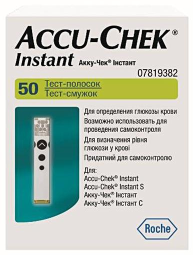 Тест-полоски Accu-Chek Instant (Акку-Чек Инстант) N50