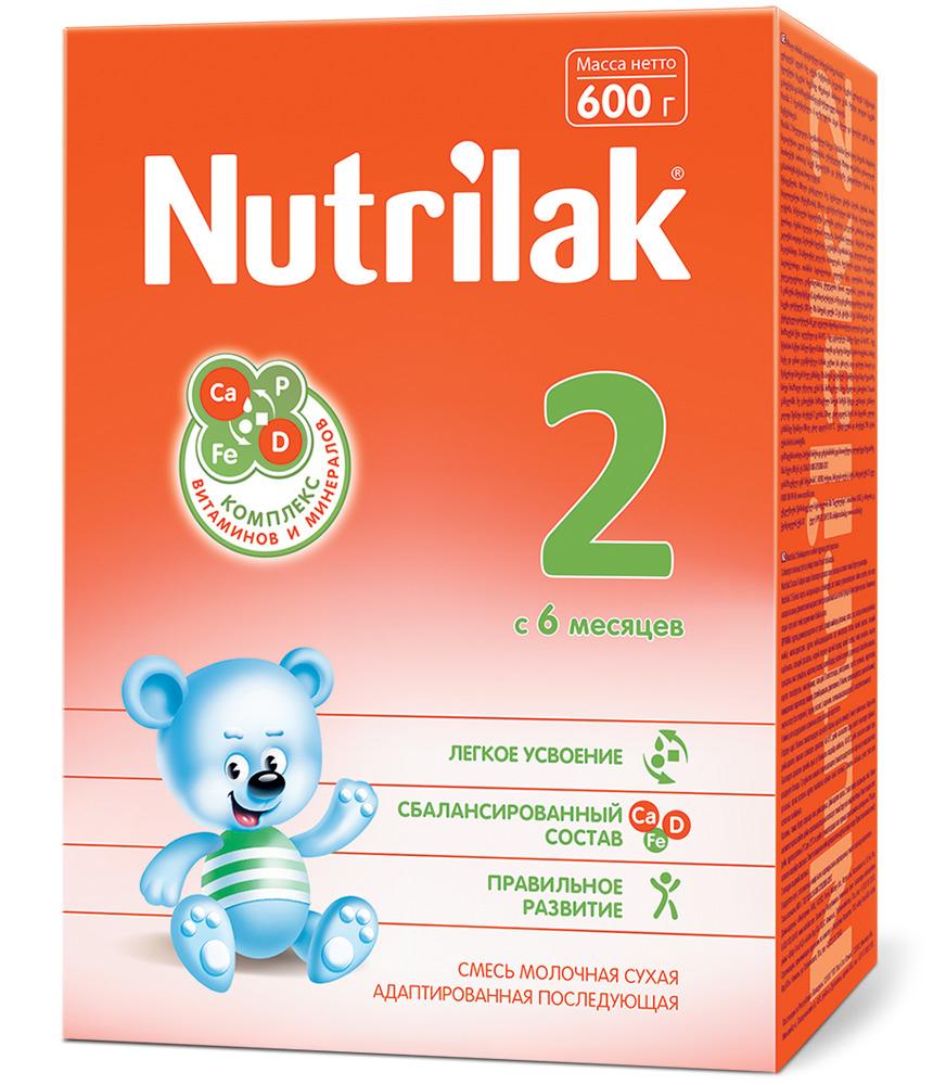 Nutrilak 2 с 6 месяцев 600г