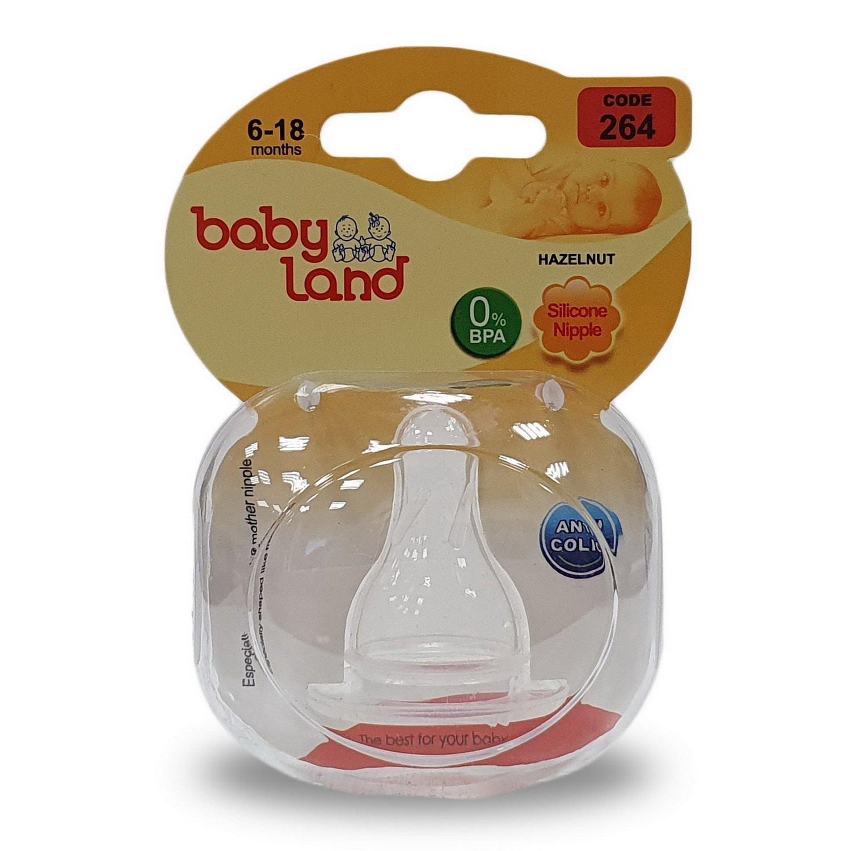 Baby Land соска силиконовая классик 6-18мес 264