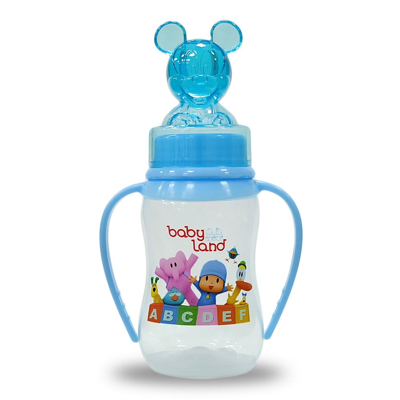 Baby Land бутылочка с ручками 150мл 473
