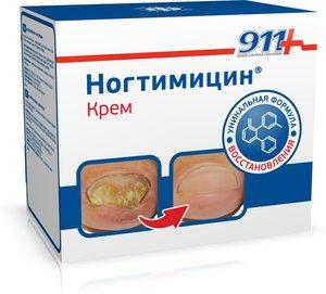 911 Ногтимицин крем 30 мл