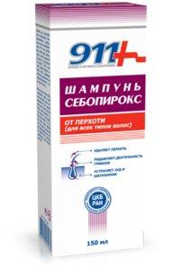911 Шампунь Себопирокс от перхоти для всех типов волос 150 мл