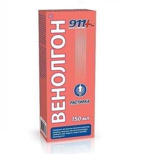 911 Венолгон растирка 150 мл