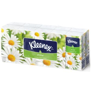 Kleenex Aroma Ромашка платки носовые спайка N10