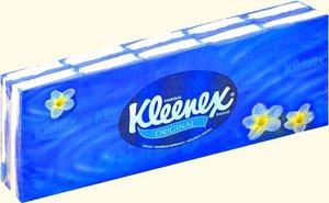 Kleenex original платки носовые спайка 10 шт N 10