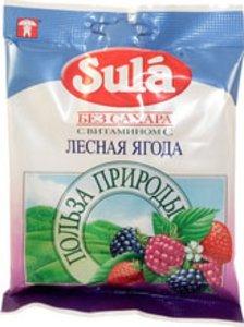 Sula леденцы б/сах лесная ягода 60 г N 1