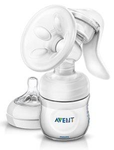 Avent Молокоотсос ручной Natural SCF330/20 арт.86820 с бутылочкой 125 мл в комплекте 1 шт.