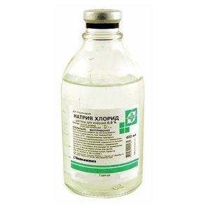 Натрия хлорид Гротекс раствор для инфузий 0,9% флакон п/э 400мл N 1