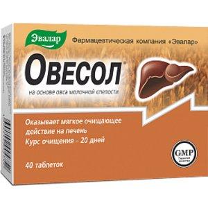 Эвалар Овесол таблетки N40