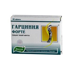 Гарциния-форте таблетки N80