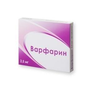 Варфарин таб 2,5мг N100 Озон