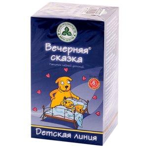 Детский чайный напиток Вечерняя сказка КЛС ф/п 1.5 г N20