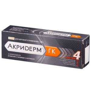 Акридерм ГК крем 30г