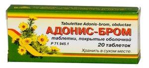 Адонис-бром таб N20 Вифитех