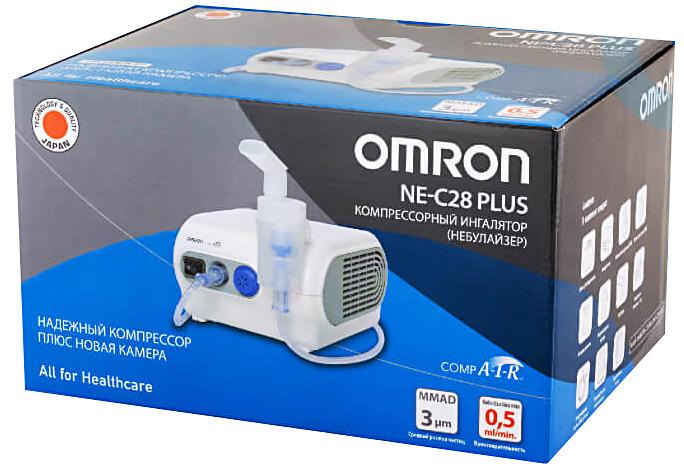 Ингалятор Omron NE-C28 Plus компрессорный (Омрон)