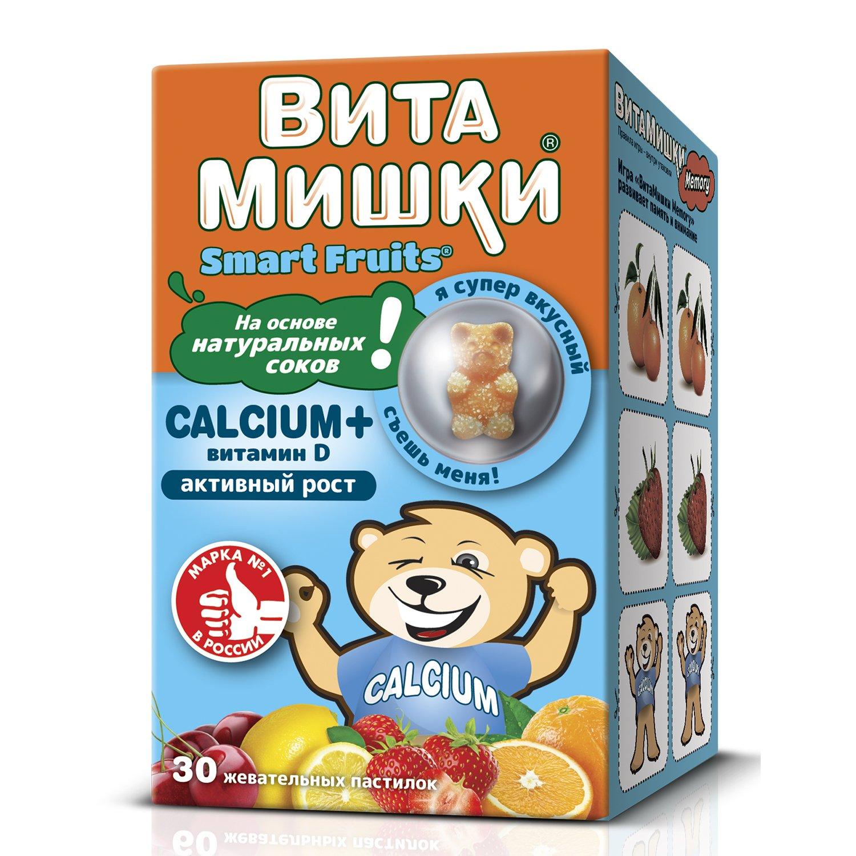 ВитаМишки Calcium+ пастилки жевательные N30