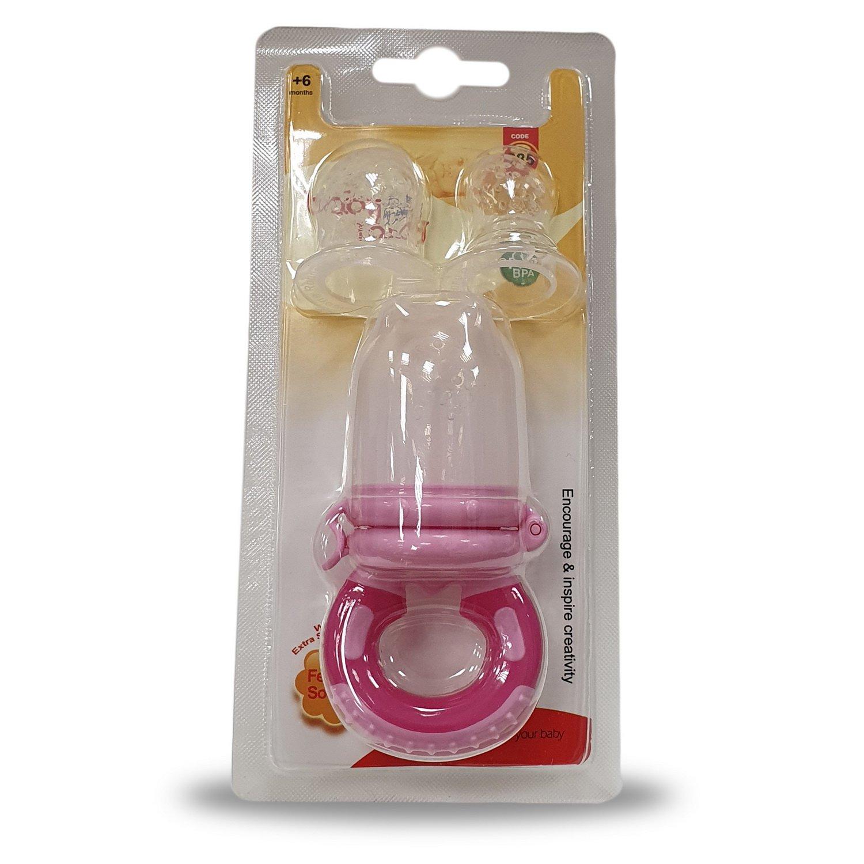 Baby Land ниблер c 3 насадками силиконовыми 285