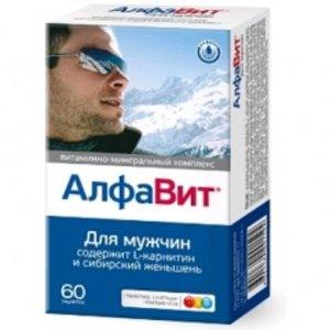 Алфавит Для мужчин таблетки, покрытые плен. оболочкой N60