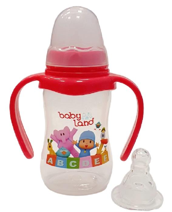 Baby Land бутылочка с ручками 150мл 249