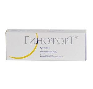 Гинофорт крем вагинальный 2% 5г