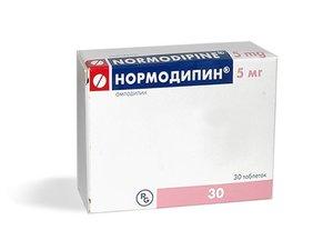 Нормодипин таблетки 5мг N 30
