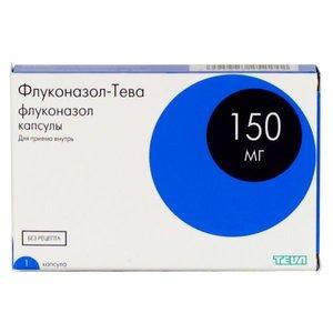 Флуконазол-Тева капс 150мг N1