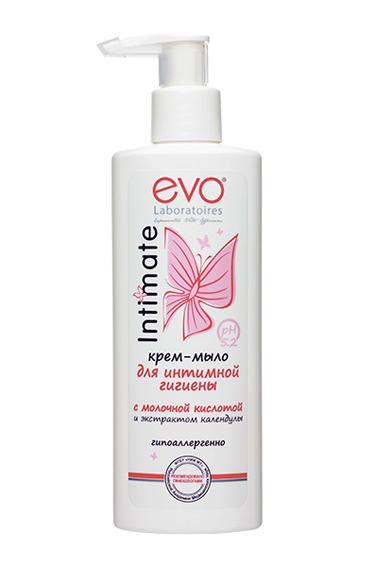 Крем-мыло для интимной гигиены Evo Intimate 200мл