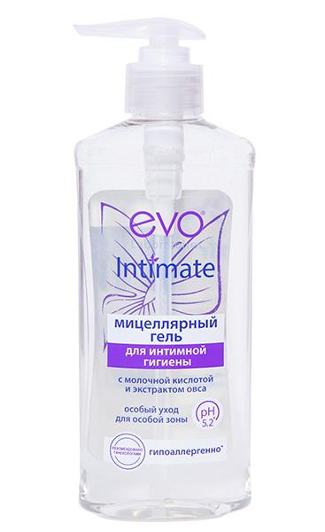 Гель мицеллярный для интимной гигиены Evo Intimate 275мл