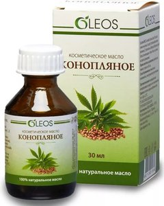 Конопляное масло косметическое Олеос 30 мл
