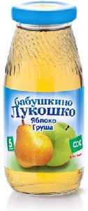 Сок Бабушкино Лукошко яблоко-груша с 5 мес., 200 мл