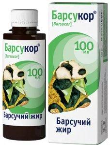 Барсукор Барсучий жир 100 мл флакон