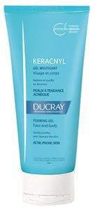 Ducray Keracnyl Гель очищающий пенящийся для жирной, проблемной кожи 200 мл