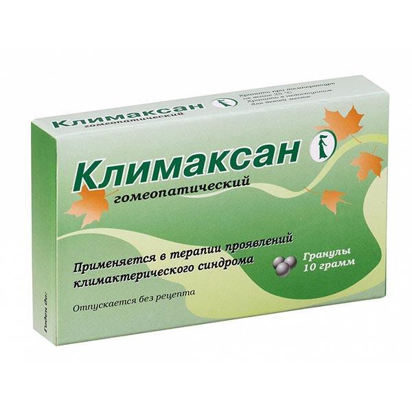 Климаксан гранулы гомеопатические 10г