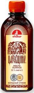 Льняное масло Биокор Царевщино 250 мл