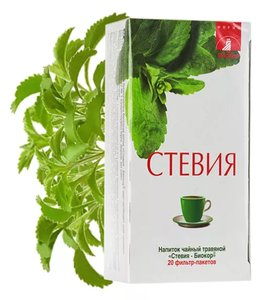 Стевия Биокор напиток чайный фильтр-пакеты 2 г 20 шт.