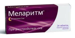 Меларитм таб 3мг N24